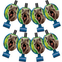 Jurassic World Blow Outs 8 Count