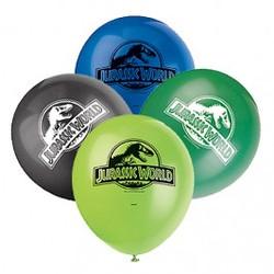"Jurassic World 12"" Latex Balloons 8 Count"