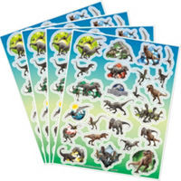 Jurassic World Sticker Sheets 4 Count