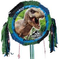 Jurassic World Drum Pull Pinata