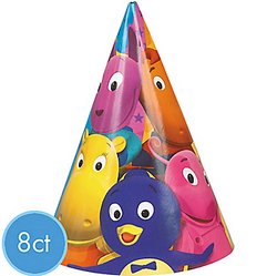 Backyardigans Party Cone Hats 8 Pack