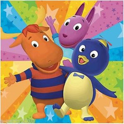 Backyardigans Party Lunch Napkins 16 Pack