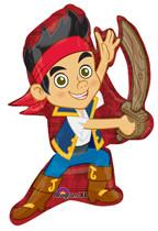 """Jake & Pirates 31"""" SuperShape Balloon"""