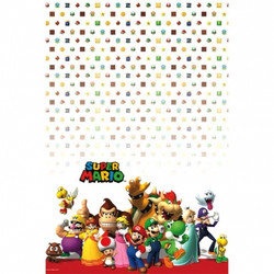Super Mario Brothers Plastic Tablecover
