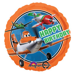 "Disney Planes 17"" Happy Birthday Balloon"