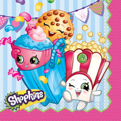 ShopKins Lunch Napkins 16 Count