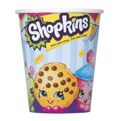 ShopKins 9 Oz Cups 8 Count