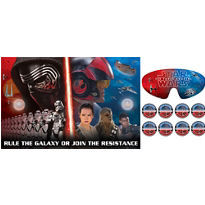 Star Wars Episode VII The Force Awakens Party Game 10pc