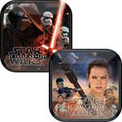 Star Wars Episode VII The Force Awakens Dessert Plates 8ct