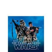 Star Wars Episode VII The Force Awakens Beverage Napkins 16ct