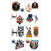 Star Wars Episode VII The Force Awakens Tattoos 16 count