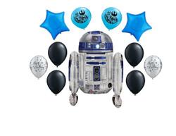 Star Wars R2-D2 Balloon Bouquet 11 Ct.