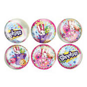 Shopkins Bounce Balls 6 count