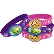 Shopkins Wristbands 4 count