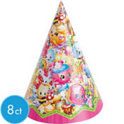 Shopkins Party Hats 8ct