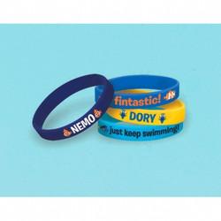 Disney Pixar Finding Dory Rubber Bracelets 4 pack