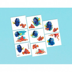 Disney Pixar Finding Dory Tattoos 16 pack