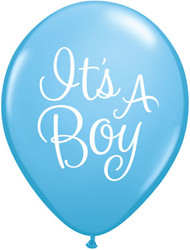 11C IT'S A BOY CLASSY SCRIPT PALE BLUE