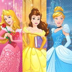 Disney Princess Dream Big Lunch Napkins (16 pack)