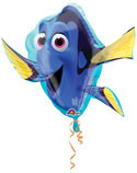 "LARGE SHAPE FINDING DORY 30""  FOIL BALLOON"