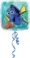 """18"""" SQUARE FINDING DORY FOIL BALOON"""