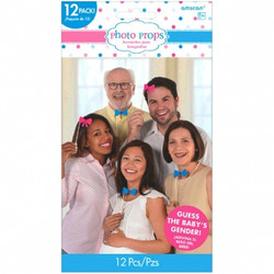 Girl Or Boy? Photo Props (12 pack)