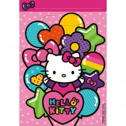 Hello Kitty Rainbow® Folded Loot Bag (8 pack)