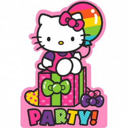 Hello Kitty Rainbow® Invitations (8 pack)