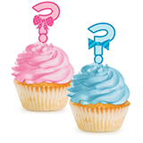 Bow Or Bowtie Cupcake toppers (12)