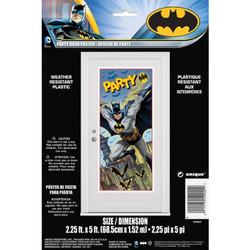 """Plastic Batman Door Poster, 60"""" x 27"""""""