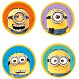 Despicable Me Shaped erasers (4)