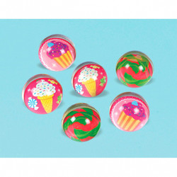 Sweet Shop Bouncy Ball Favors (6 count)