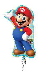 Super Mario Brothers Large Shape Foil Balloon