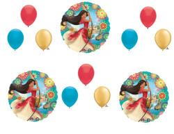 12 pc. ELENA OF AVALOR Happy Birthday Party Balloons Decoration Supplies Disney Show