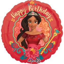 """18"""" ELENA of  AVALOR Happy Birthday Foil Balloon"""
