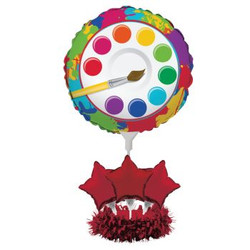Art Party Centerpiece Balloon Kit