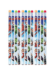 Avengers Pencils will fill your little one's school supply kit with superhero power! These wood pencils feature Captain America, Hulk, Iron Man, and Thor in action. Add them to your child's school supplies or to party favor bags at your Avengers birthday party. Write notes in heroic fashion with these awesome pencils! Avengers Pencils product details:  12 per package 7 1/2in long Wood No. 2 lead Not for children under 4 years.