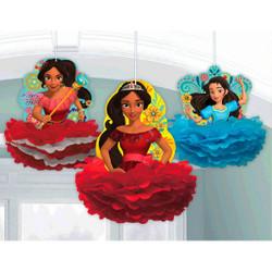 Disney Elena of Avalor Fluffy Decorations (3)