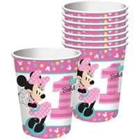 Disney Minnie's Fun To Be One 9oz Cups (8)