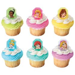 Disney Princess Gemstone Princesses Cupcake Rings