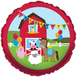 "Farmhouse Fun 18"""""""" Foil Balloon"