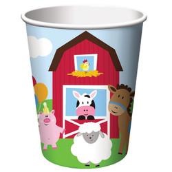 Farmhouse Fun 9 oz Cups (8)