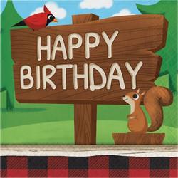 Lum-Bear-Jack Happy Birthday Lunch Napkins (16)