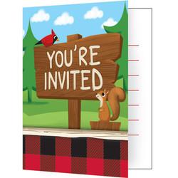 Lum-Bear-Jack Invitations (8)