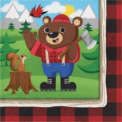 Lum-Bear-Jack Lunch Napkins (16)
