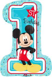 Mickey 1st Birthday Large Shape