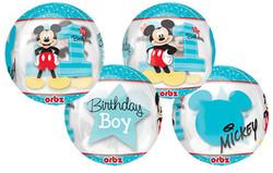 Mickey's 1st Birthday Orbz