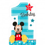 Mickey's Fun To Be One Postcard Invitations (8)