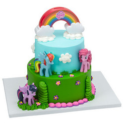 My Little Pony Over the Rainbow Signature Cake Kit