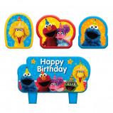 New Sesame Street Birthday Candle Set